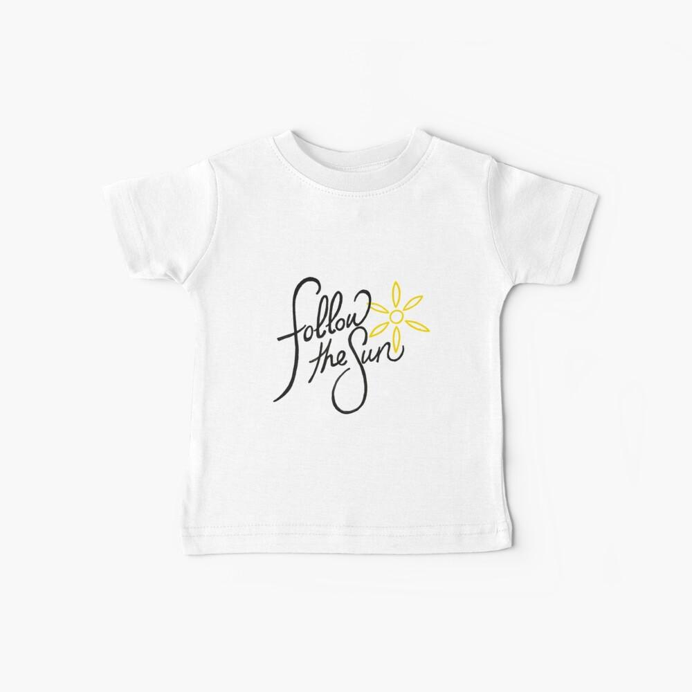 Folge der Sonne 2 Baby T-Shirt