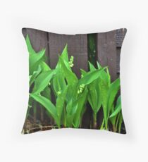 Lily of the Valley......... Throw Pillow