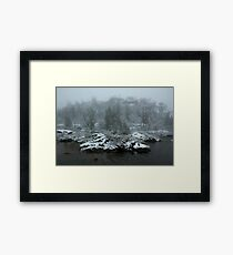 Autumn Snows Framed Print
