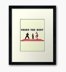 Cobra Kai The Tournament Framed Print