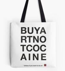 Compra arte no cocaina Bolsa de tela
