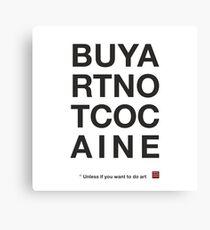 Compra arte no cocaina Lienzo
