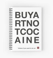 Compra arte no cocaina Cuaderno de espiral