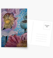 Pink Poppies Postcards