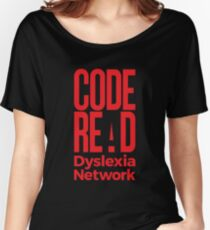 Code Read Dyslexia Network Women's Relaxed Fit T-Shirt
