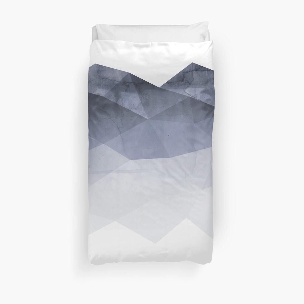 Fünfzig Schatten des Blaus Bettbezug