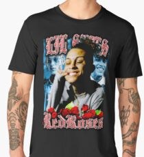 RED ROSES SKIES RAP TEE Men's Premium T-Shirt