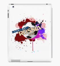 soccer cup russia 2018 iPad Case/Skin