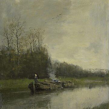 Trekvaart-Anton Mauve by LexBauer