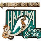 Hale'iwa North Shore Sign - MAN by northshoresign
