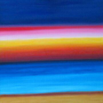 Sunset Beach by artforsoul