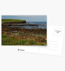 LINED ROCKS Postcards
