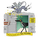 The Fairy Greymother & the kennel (50% of profits go to the Greyhound Trust) by RichSkipworth