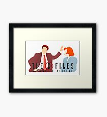X files I want to believe Ghost in the machine Framed Print