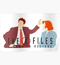 X files I want to believe Ghost in the machine Poster