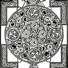 Celtic Tapestry Drawing by morgansartworld