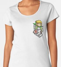 Pocket Link  Women's Premium T-Shirt