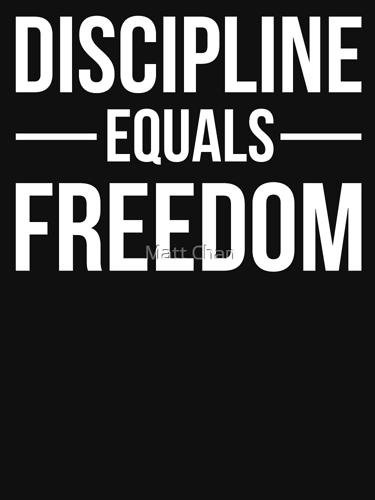 Discipline Equals Freedom Pdf