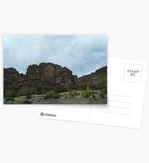 Cliff Crown - Uyuni - Bolivia, South America Postcards