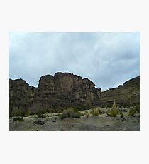 Cliff Crown - Uyuni - Bolivia, South America Photographic Print