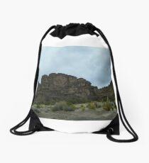 Cliff Crown - Uyuni - Bolivia, South America Drawstring Bag