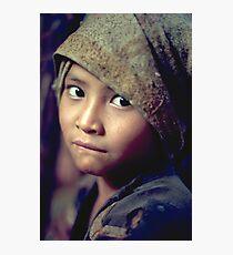 Innocent eyes Photographic Print