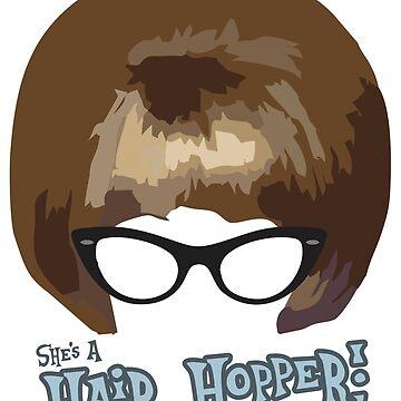 She's A Hair Hopper! by DougPop