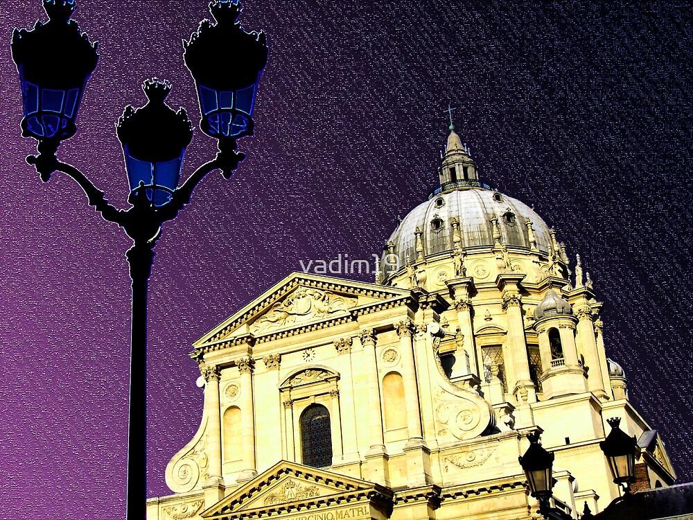 The church of the Val-de-Grâce, Paris, France by vadim19