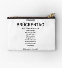 German wordgame for Brückentag Studio Pouch