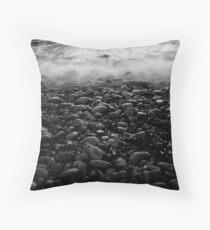 Cold Rush Throw Pillow