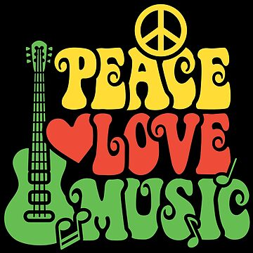 Reggae Peace Love Music by Lisann