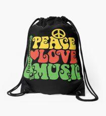 Reggae-Friedensliebes-Musik Rucksackbeutel