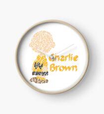 Charlie Brown  Clock