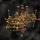 Space station 9b by digitalillusion