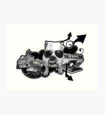 BRITISH BULL DOG Art Print