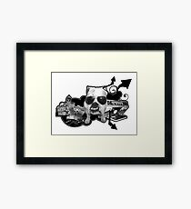 BRITISH BULL DOG Framed Print