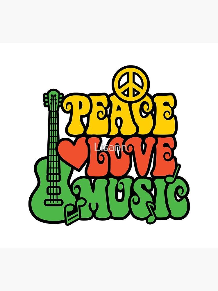 Reggae Peace-Love-Musik von Lisann