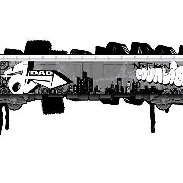 NYC TRAIN by fatdad