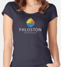 Fhloston Paradise v3 Women's Fitted Scoop T-Shirt