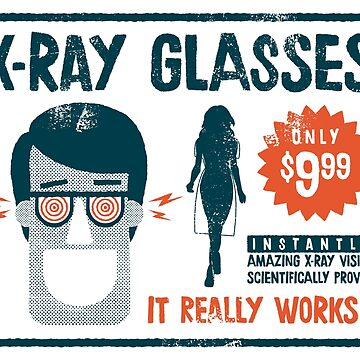 X-ray glasses by alexlaunay