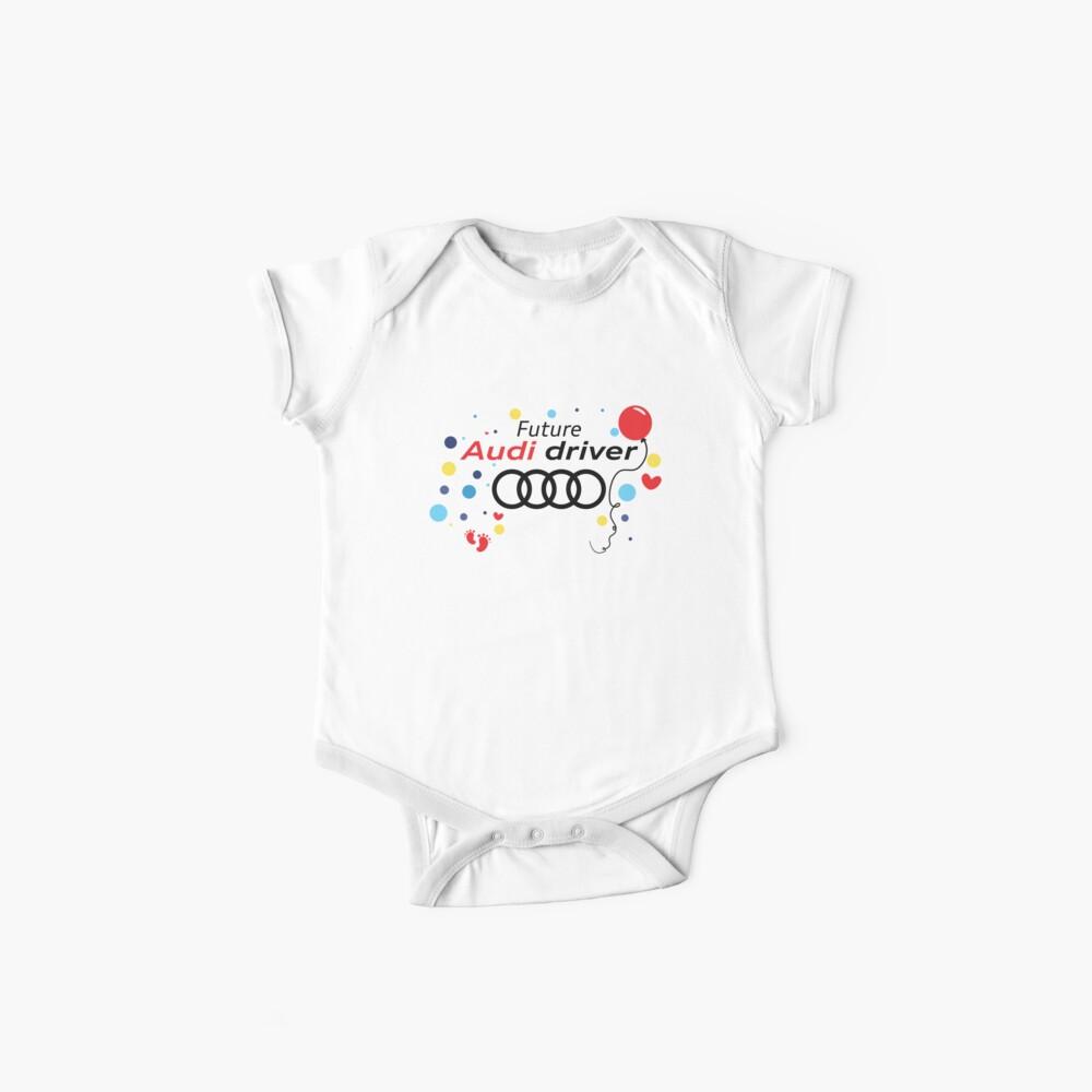 Zukünftiger Audi-Fahrer Baby Body