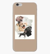 Labrador Retriever Medley iPhone Case