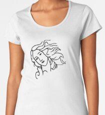 Venus from The Birth of Venus  Women's Premium T-Shirt