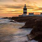 Dusk At Hook Lighthouse by Derek Smyth