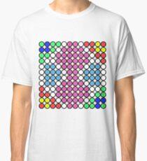 Farbiger Punktentwurf Classic T-Shirt