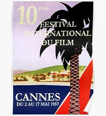 Cannes Film Festival (1957), 10th Poster