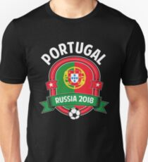 World Soccer Russia 2018 - Portugal Team Unisex T-Shirt