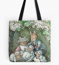 Brambly Hedge - Poppy Dusty and babies Tote Bag