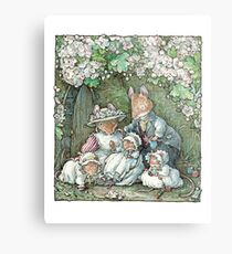 Brambly Hedge - Poppy Dusty and babies Metal Print