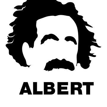 Albert Einstein  by Kaplar